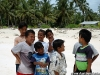 Kids greeting us as we came ashore.